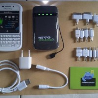 Power Bank Hippo 9000 mAh Outlander X / Portable Charger 9000mAh (Blackberry, Nokia, Samsung, iPhone, iPad, Tab, GPS)