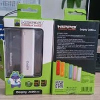 Power Bank Hippo 2600 mAh Dolphy / Powerbank 2600mAh Portable Charger Universal (Blackberry, Nokia, Samsung, LG, HTC, Sony)