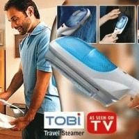 tobi setrika uap travel steam iron laundry dry clean gantungan baju pakaian anti kusut as seen on tv praktis portabel quick