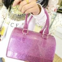 tas fashion handbags fulla bening pink