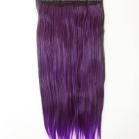 Hairclip Ombre Straight Purple