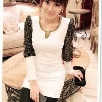 Black / White Dress [Korean Style Dress]