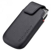 New Belt Clip Holster Leather Skin Case Cover Pouch For Blackberry Z10 Black
