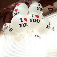 Balon I Love You Cinta