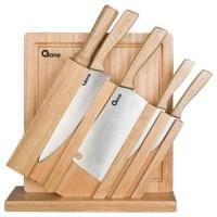 Ox-95 Wooden Knife Set Oxone Pisau Dapur NEW