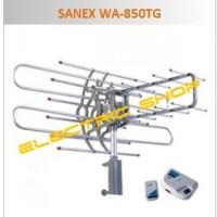 Antena TV Luar / Outdoor + Booster, Remote & Kabel 10m - SANEX WA-850TG