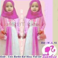 Barbie Unix Kids - Bahan Spandek - Ukuran XL - Grosir Baju Anak Murah