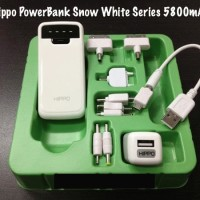 Hippo Original Power Bank Snow White 5800 mAh