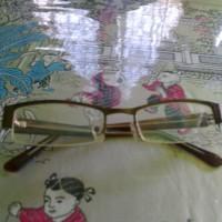 kacamata stylish warna coklat