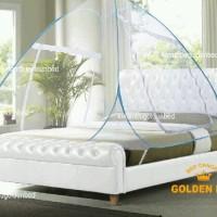 """Bed Canopy 160x200 QUEEN SIZE Golden Bed"""" Deluxe"""