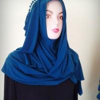 jilbab hana hijau tosca