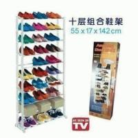 Amazing shoe rack Shoes as seen on tv rak sepatu wanita pria high heels sporty kets olahraga futsal basket kotak sepatu sandal