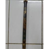 Suling bambu motif ukiran bali besar