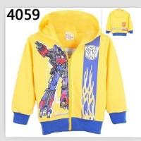 Jaket Anak Import Jacket Transformer Yellow