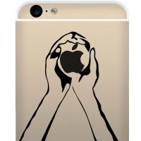 Tokomonster Decal Sticker Hand Holding Apple New Iphone