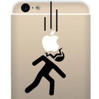 Tokomonster Decal Sticker Apple Dropped Head Stickman New Iphone