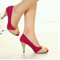 Gliter Fanta-Black Heels