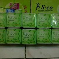 Pembalut Herbal S CO Pantyliner (Hijau)