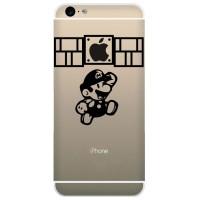 Tokomonster Decal Sticker Apple iPhone - Super Mario get Apple Point -
