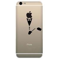 Tokomonster Decal Sticker Apple iPhone - Composer Music - 4 Buah