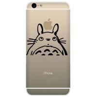 Tokomonster Decal Sticker Apple iPhone - My Neighbour Totoro - 4 Buah