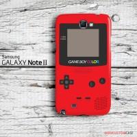 Nintendo Red Game Boy Colors Samsung Galaxy Note 2 Custom Hard Case