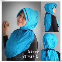 Jilbab Instant - Bergo - bergo STRIPE