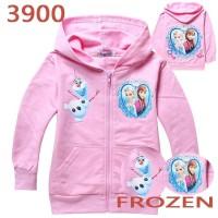 SALE Jaket Anak Import Frozen Jacket Pink size 90(1-2thn)