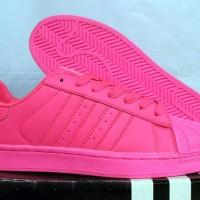 Sepatu Adidas Super Color Pink (Casual,Kets,Running,Nike)