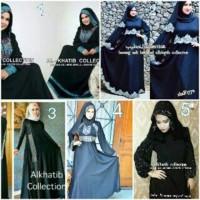 abaya saudi hitam