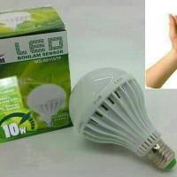 LAMPU LED SENSOR TEPUK / BOHLAM LED SENSOR 10WATT