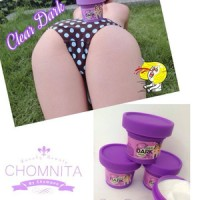 CLEAR DARK CHOMNITA - Penghilang noda dan bintik hitam seluruh tubuh