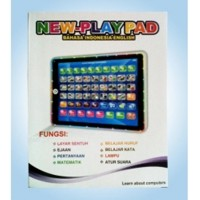 Mainan Edukatif  New Playpad Lampu 10 2 Bahasa Inggris & Indonesia