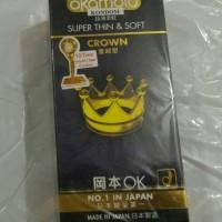Kondom Okamoto made in Japan isi 12 pcs murah Pekanbaru
