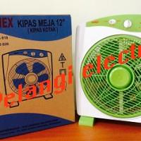 """KIPAS ANGIN MEJA / BOX FAN 12"""" SANEX SB 818"""