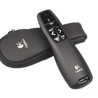 Logitech wireless Presenter/laser pointer R400 garansi resmi