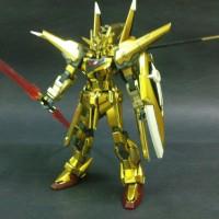 Gundam Shiranui Akatsuki Gold Hongli 1/144 High Grade HG