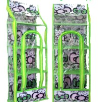 RMOZ Hello Kitty Hijau (Rack Multifunction Organizer Zipper) RMO