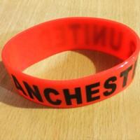 Gelang Rubber Besar Manchester United