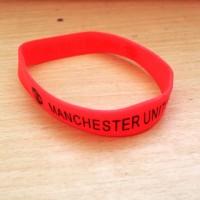 Gelang rubber kecil Manchester United