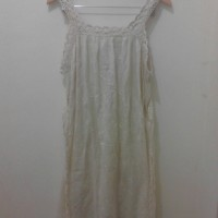 Japanese Cotton Embroidery Inner Dress