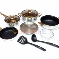 Oxone Basic Cookware Set (panci) OX-911