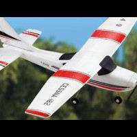 HobbyMall F949 RC Plane 3CH 2.4G Fixed Wing Plane Cessna-182 RFT