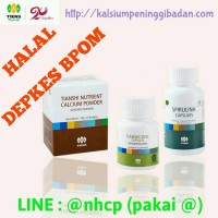Obat Peninggi Badan Tiens NHCP Zinc Spirulina Paket 10 Hari Booster