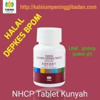 Vitamin Peninggi Badan Tiens NHCP Tablet Kunyah