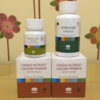 Paket 20 Hari Booster Obat Peninggi Badan Tiens NHCP Zinc Spirulina