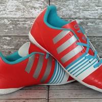 sepatu futsal Adidas Nitrocharge 4.0 Merah Putih