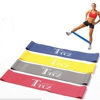 PROMO 1 SET(4 Level) Tension Resistance Band Exercise Loop Fitness Gym
