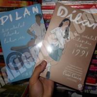 Paket Buku Dilan 1990 dan dilan bagian kedua 1991 by Pidi Baiq