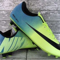 Sepatu Bola Nike Mercurial Vapor IX Hijau Cyan